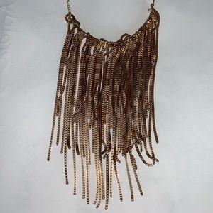 Jewelry - Bronze Frilly Necklace